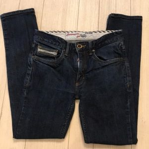 Other - Vans Dark Denim straight leg boys jeans size 26x27